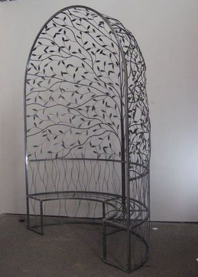 Unique Australian Made Wrought Iron Pergola Furniture By