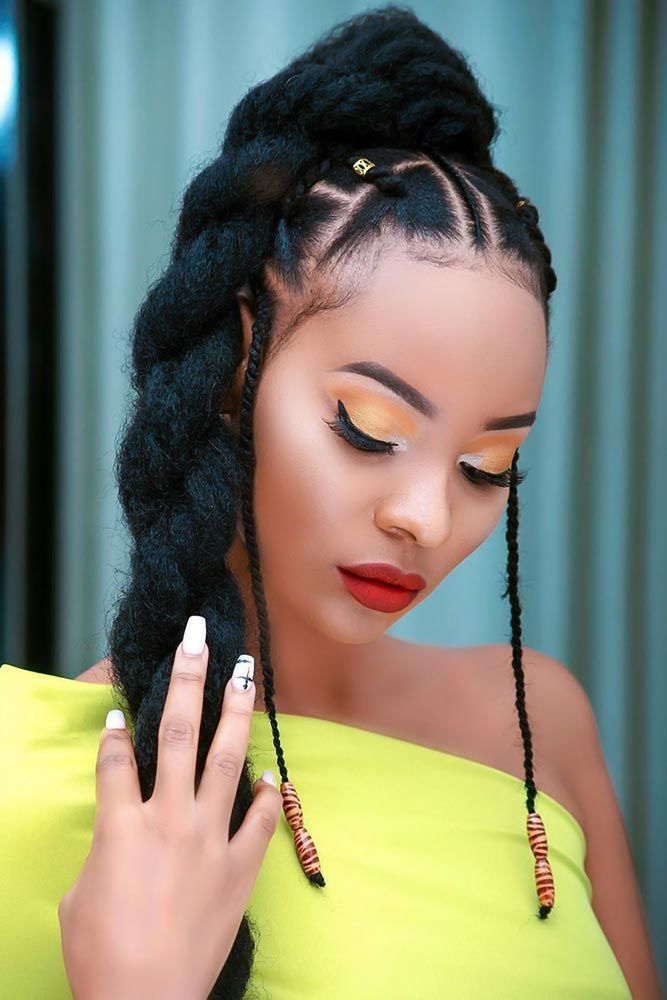 Beaux styles de tresses tribales - #belles #braids #styles #tribal - #new - #beaux #belles #braids #styles #tresses #tribales - #new # fulani Braids prom # fulani Braids prom