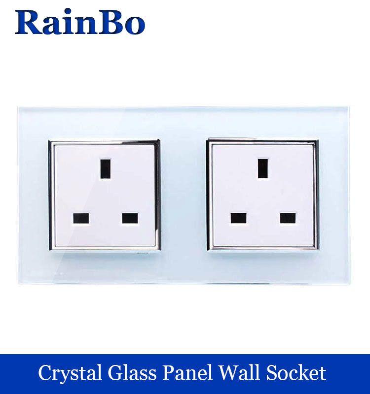 $14.14 (Buy here: https://alitems.com/g/1e8d114494ebda23ff8b16525dc3e8/?i=5&ulp=https%3A%2F%2Fwww.aliexpress.com%2Fitem%2FWall-Socket-andard-Power-Socket-White-Glass-Panel-AC-Wall-Power-smart-outlet-Socket-adapter-Black%2F32357778686.html ) rainbo Wall UK Socket  andard Power Socket Glass Panel AC Wall Power smart outlet Socket  Free Shipping Factory A28U8UW/B for just $14.14