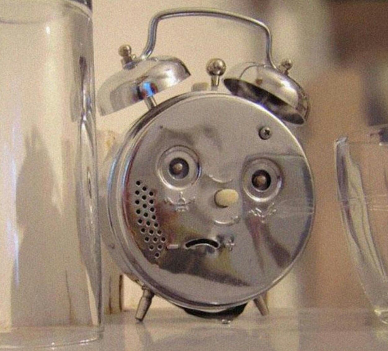 My clock in the morning.