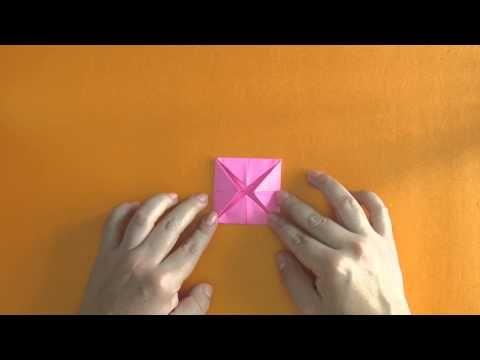 Como Hacer Una Flor De Loto En Origami Tutorial Origami Tutorial Origami Diy Crafts