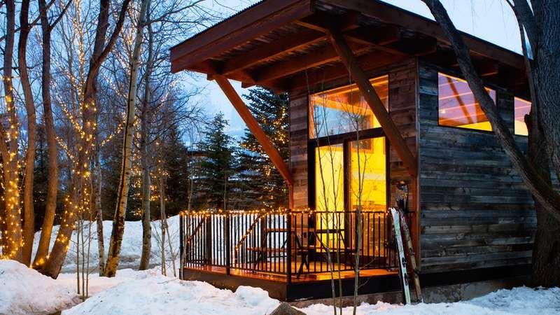 23 Cozy Winter Lodges. Jackson Hole WyCabin RentalsCozy ...
