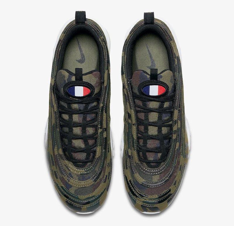 Une Nike Air Max 97 « Country Camo » Aux Couleurs De La