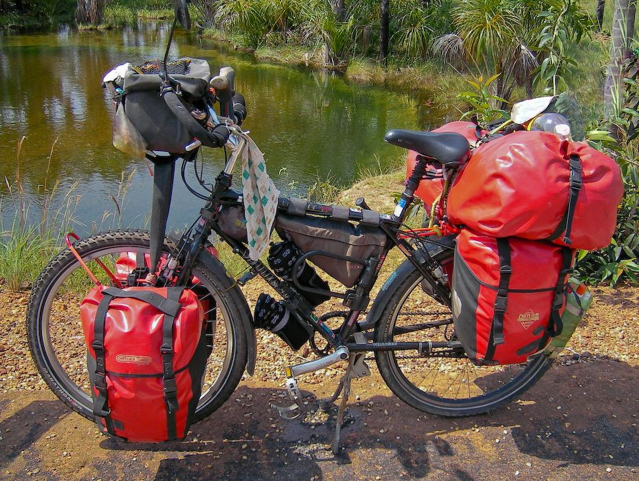 Last Resort Bug Out Vehicle Bicycle Adventure Bike