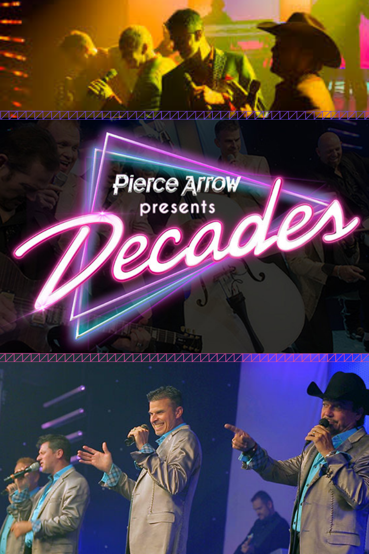 Pierce Arrowa S Decades Branson Shows New Shows Buy Tickets
