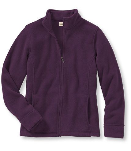 Comfort Fleece Jacket, Stand-Up-Collar: Fleece Tops and Sweatshirts | Free Shipping at L.L.Bean