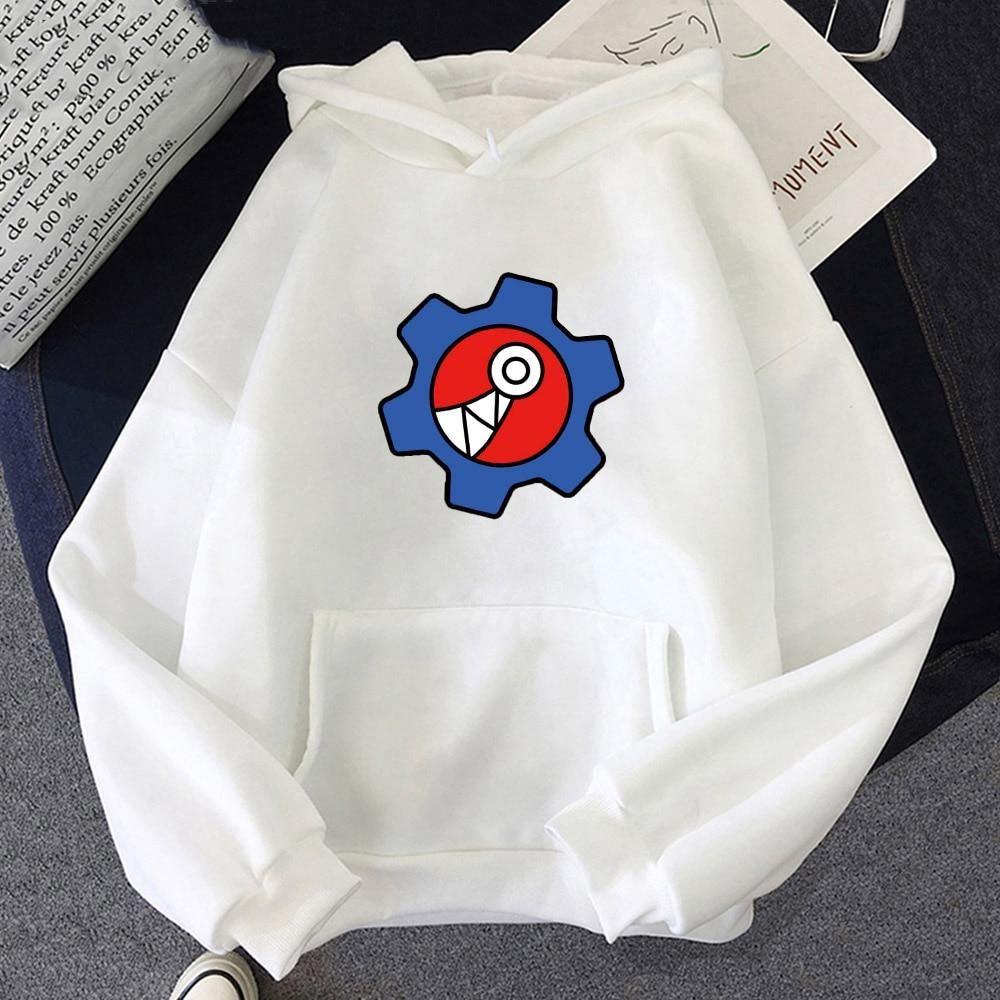 Photo of Anime SK8 the Infinity Reki Cosplay Costume Hooded Women Men Hoodie Tops SK EIGHT Sweatshirt Summer Oversize Long Sleeve Unisex – white / XS / China