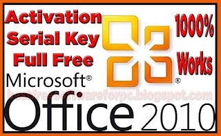 microsoft office 2010 product key 100 working