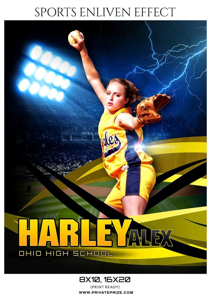 HARLEY ALEX SOFTBALL- SPORTS ENLIVEN EFFECTS