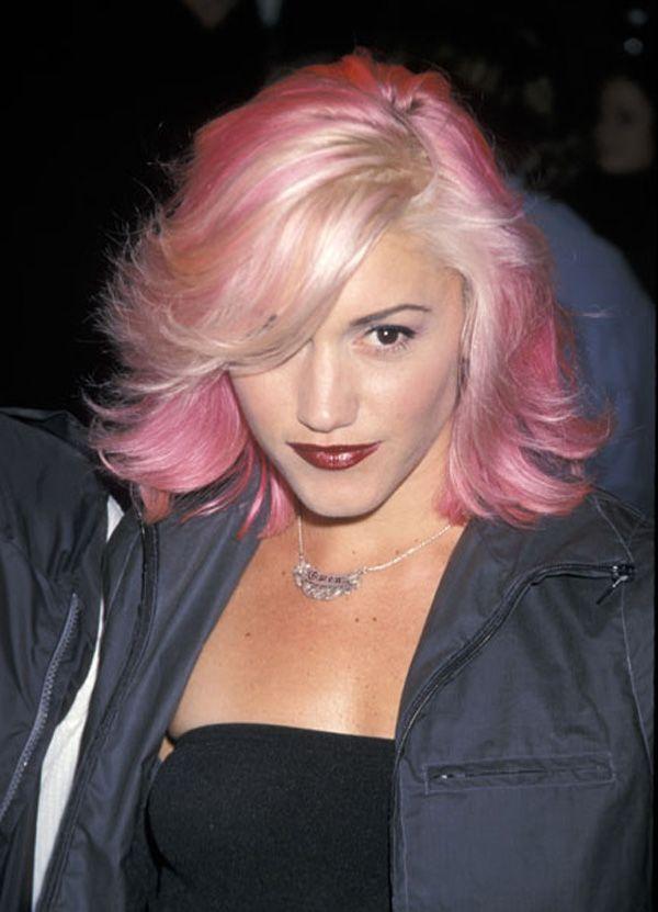 Gwen Stefani Gwen Stefani Hair Celebrity Hairstyles Pink Hair