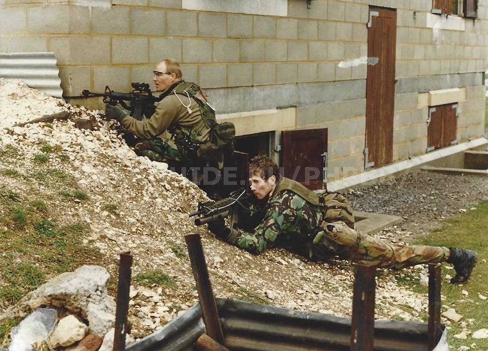 A blast from the past:   SAS & 1st SFOD-D Joint Exersise in Hereford, UK, 1992