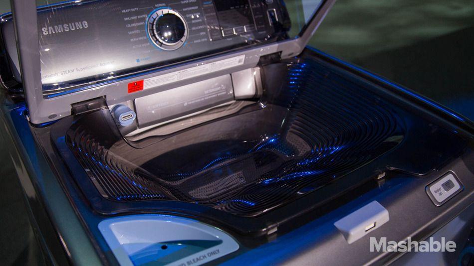 Samsung S Innovative New Washing Machine Has A Built In Sink Samsung Washing Machine Washing Machine Machine