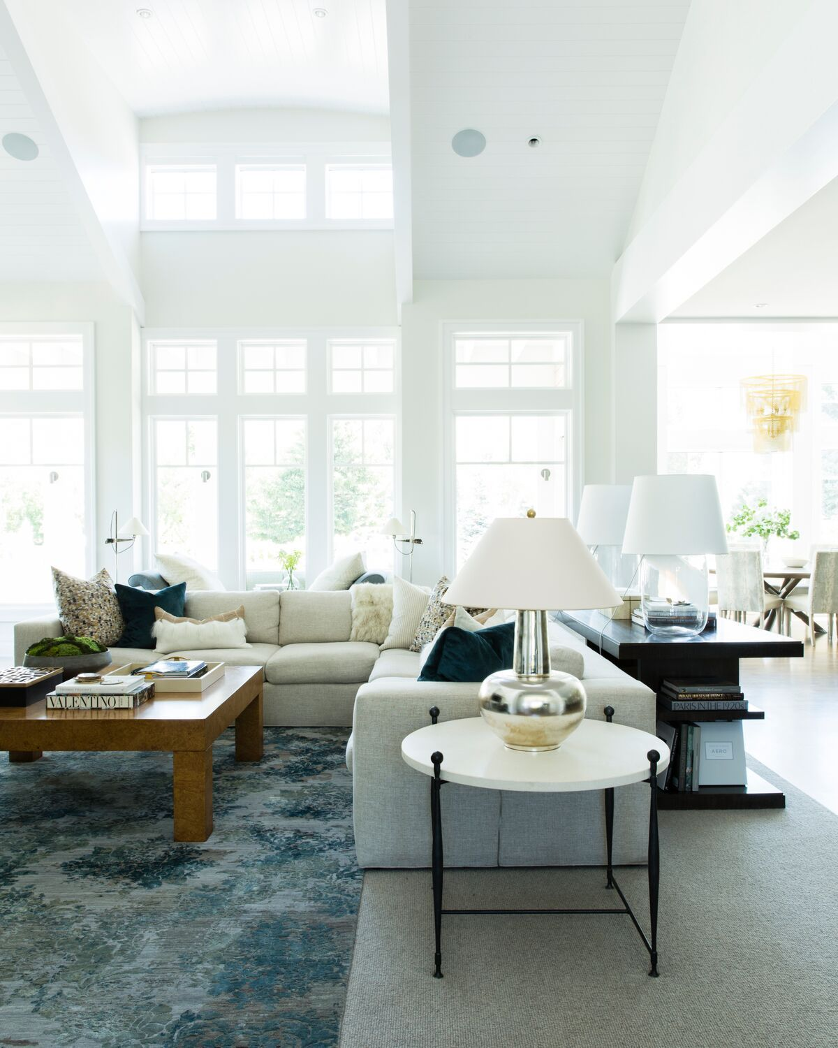 Family room styling ideas in a bright open family room Designed by ... 1380e942e3