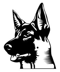 Image Result For German Shepherd Silhouette German Shepherd Tattoo Dog Drawing Animal Silhouette