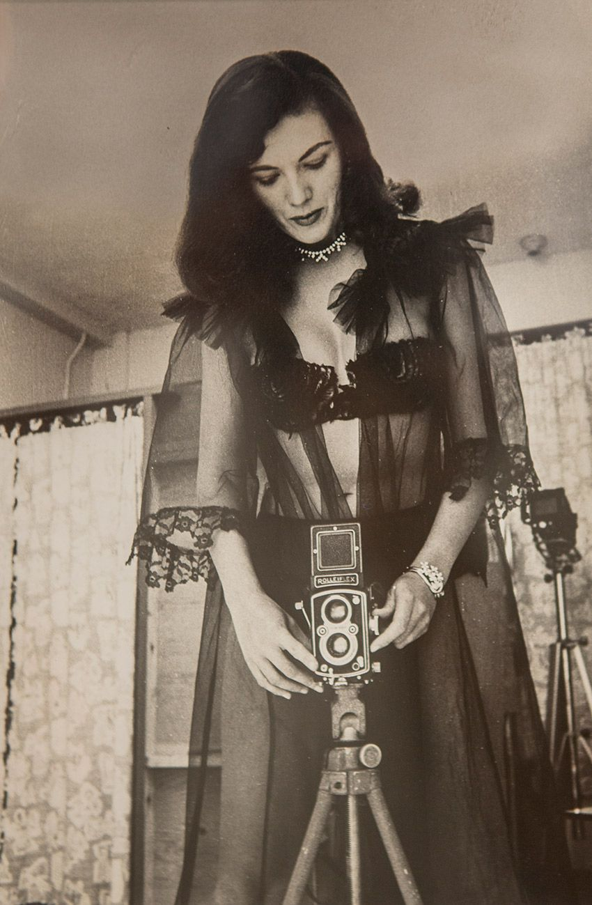 Self portraits of the woman who made bettie page famous