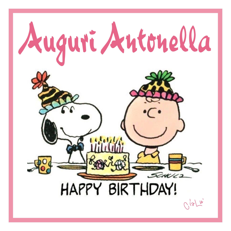 Buon compleanno Antonella | Compleanni Onomastici e Anniversari