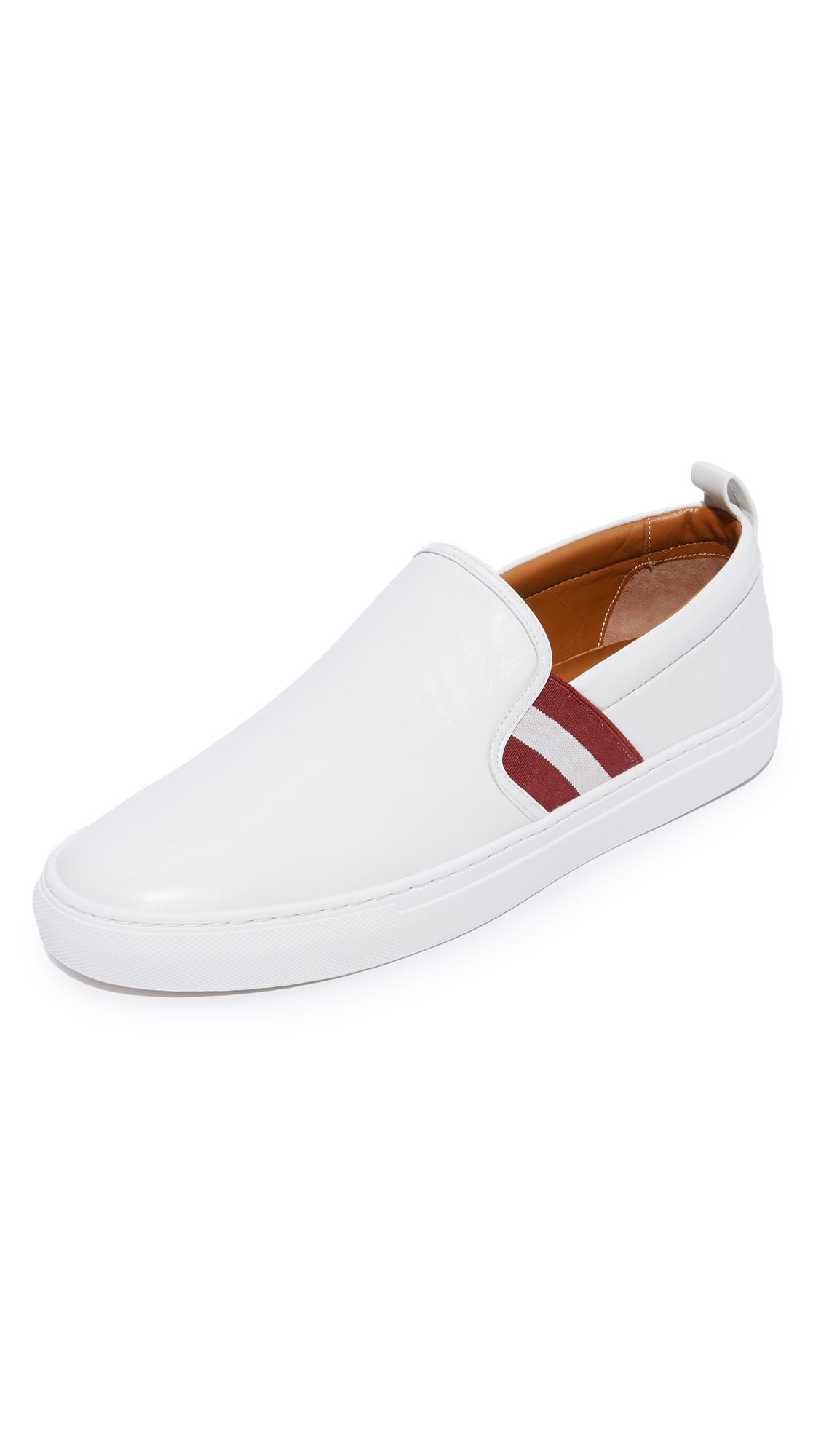 Bally Leather Slip-on Sneakers Sneakers