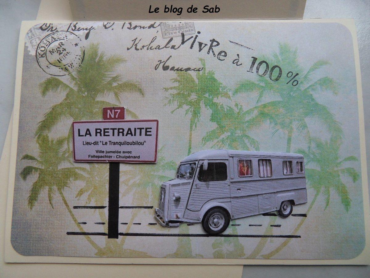 invitation retraite carte invitation