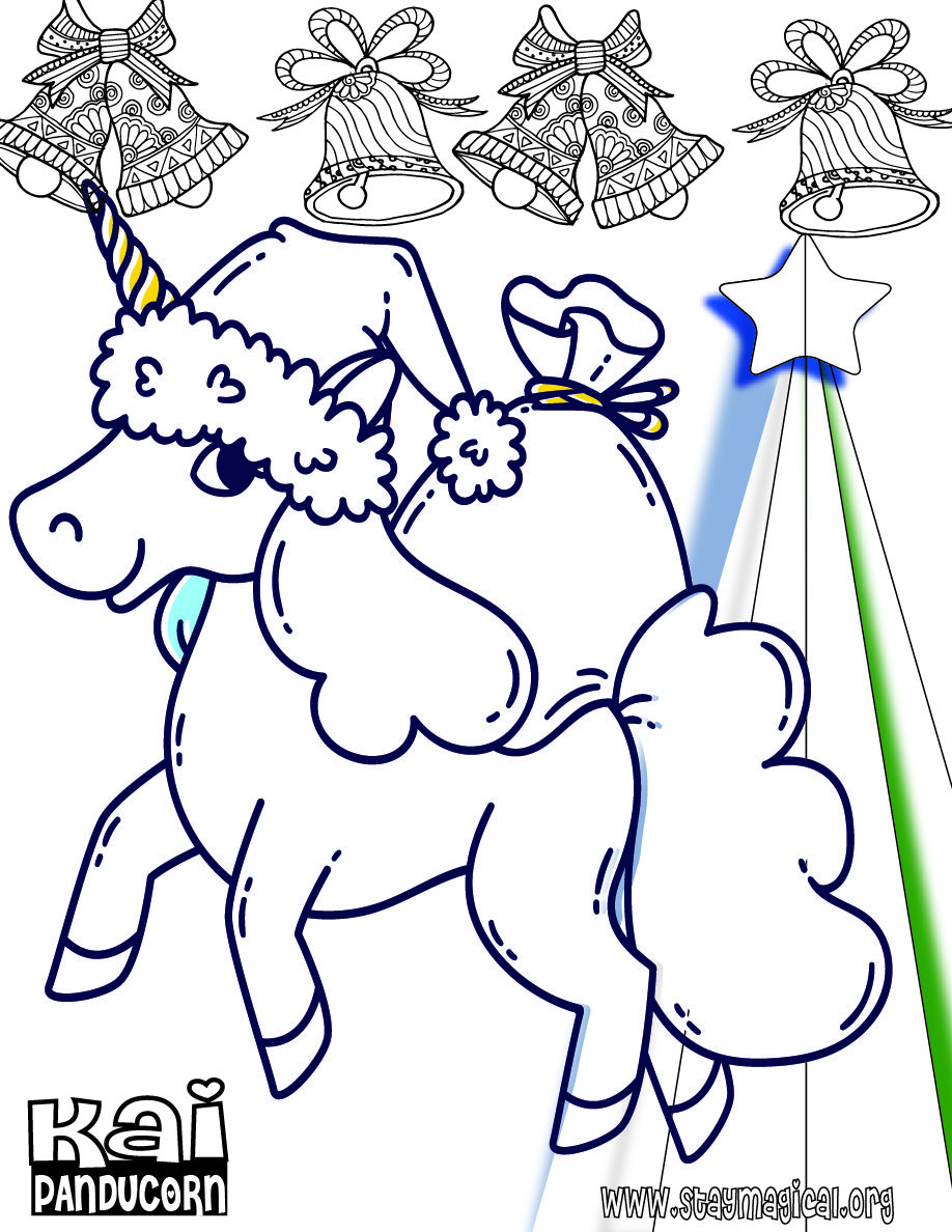 Unicorns In Love Printable Card To Color Little Girl Gifts Free Christmas Coloring Pages Christmas Coloring Pages