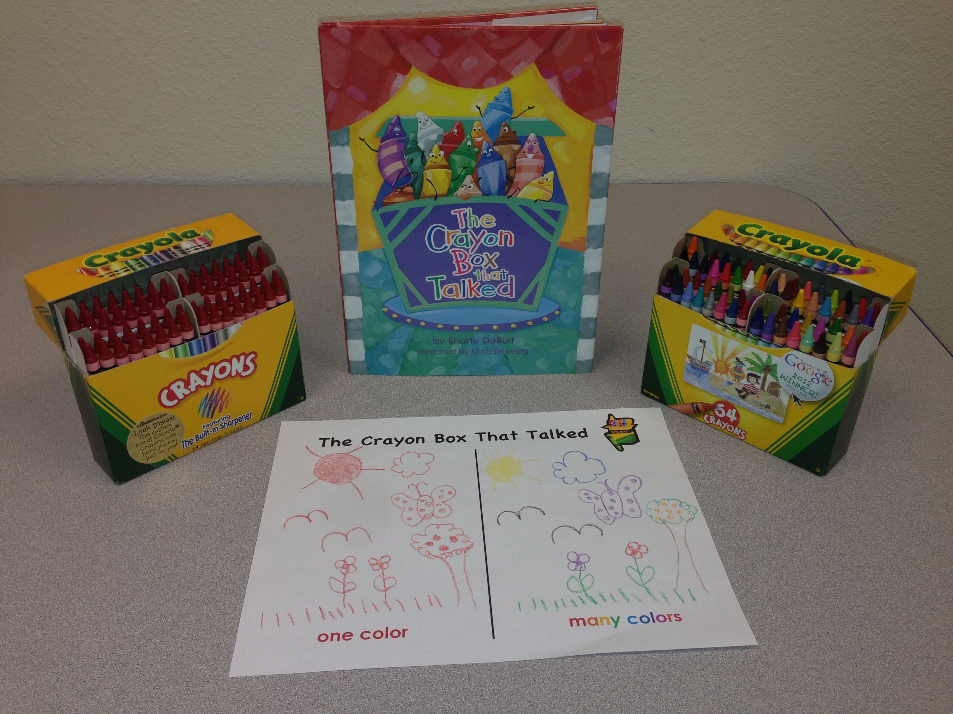 Great Craft For Lesson On Diversity The Crayon Box That Talked