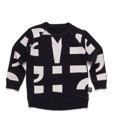 punctuation pullover