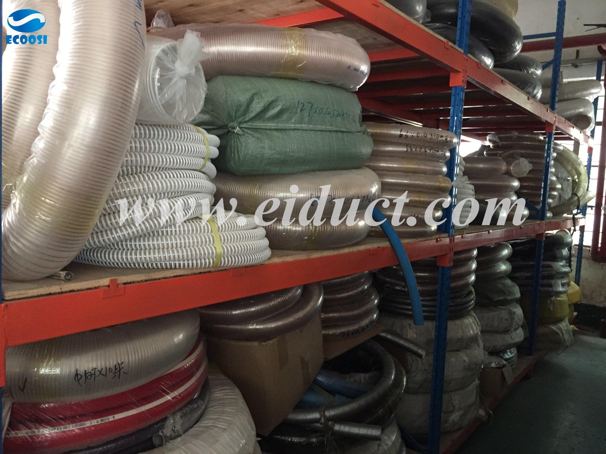Flex duct industrial hose manufacturer Dust collection