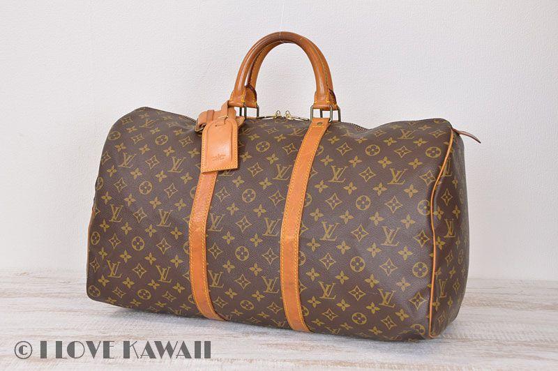 Louis Vuitton Monogram Keepall 50 Travel Bag M41426