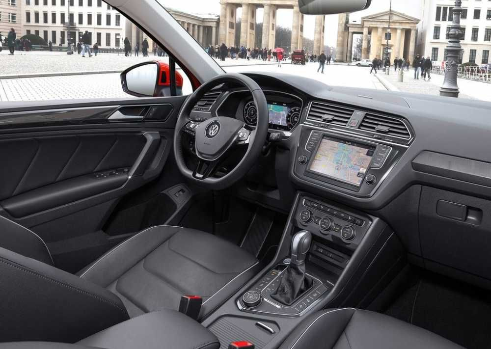 2018 Volkswagen Tiguan R Dashboard And Steering Wheel Volkswagen Tiguan R First Drive