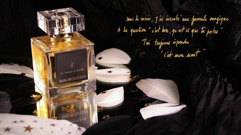 """Mon avis sur """"Le secret d'Arielle"""", le grand parfum floral musqué par Mauboussin + concours"""
