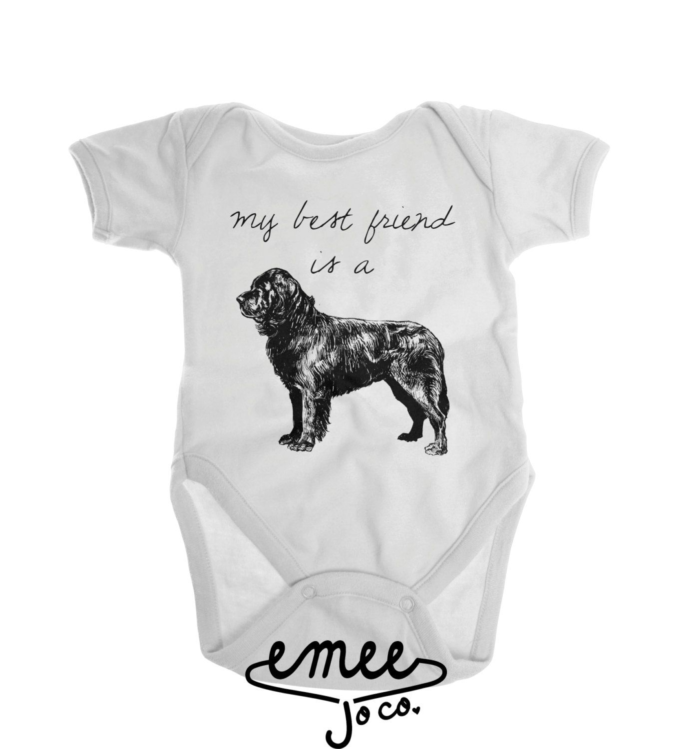 Newfoundland Dog Baby Clothes Dog Baby Clothes Dog and Baby
