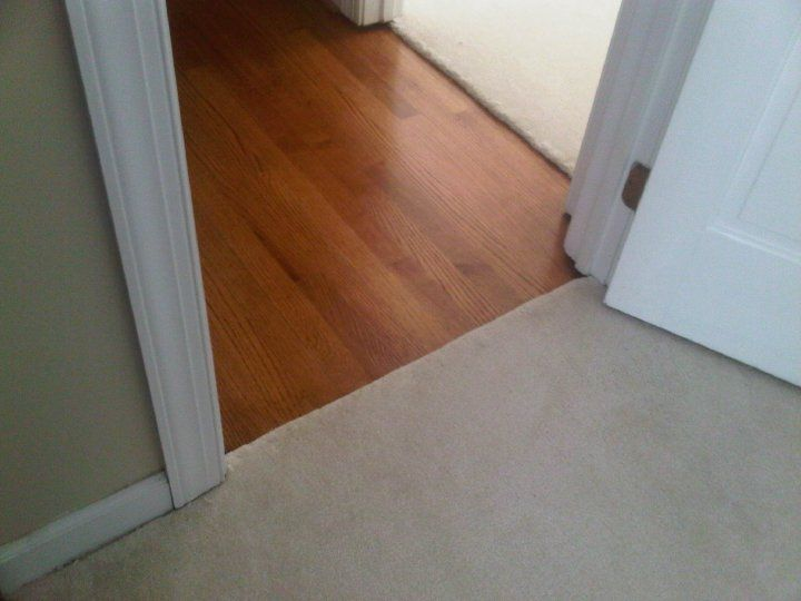 Hardwood Flooring And Carpet Transition Google Search