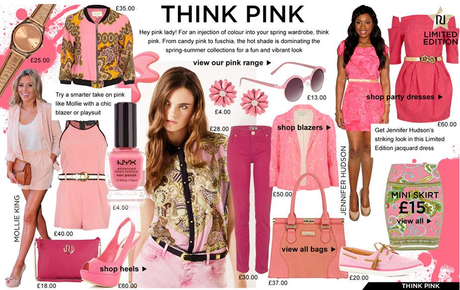 Love of all things PINK!