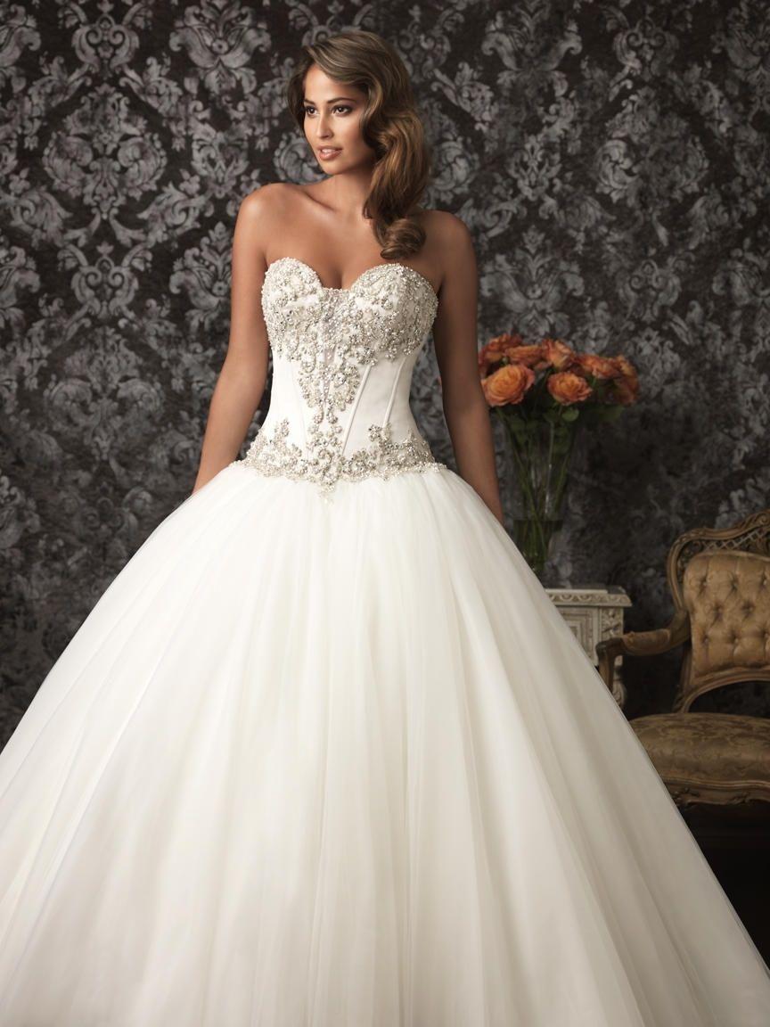 Bedazzled Bridal Dresses | Wedding Dress | Pinterest | Bridal ...