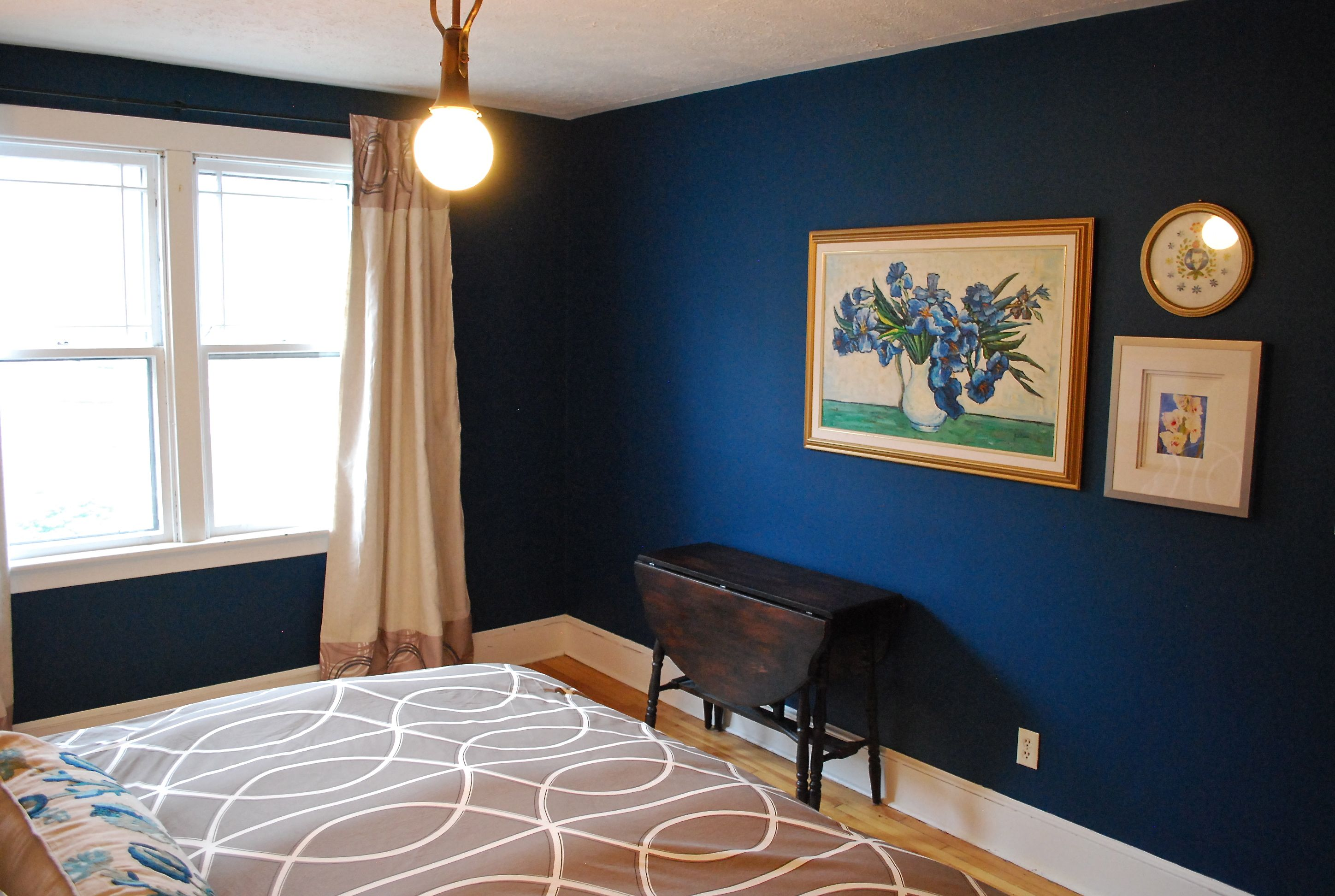 The Influence Of A Bud Vase Or Feeling Blue Blue Interior Design Blue Home Decor Blue Painted Walls