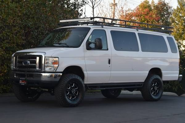 2005 Ford E350 6.0 Turbo Diesel - 4X4 CONVERSION / LIFTED ...