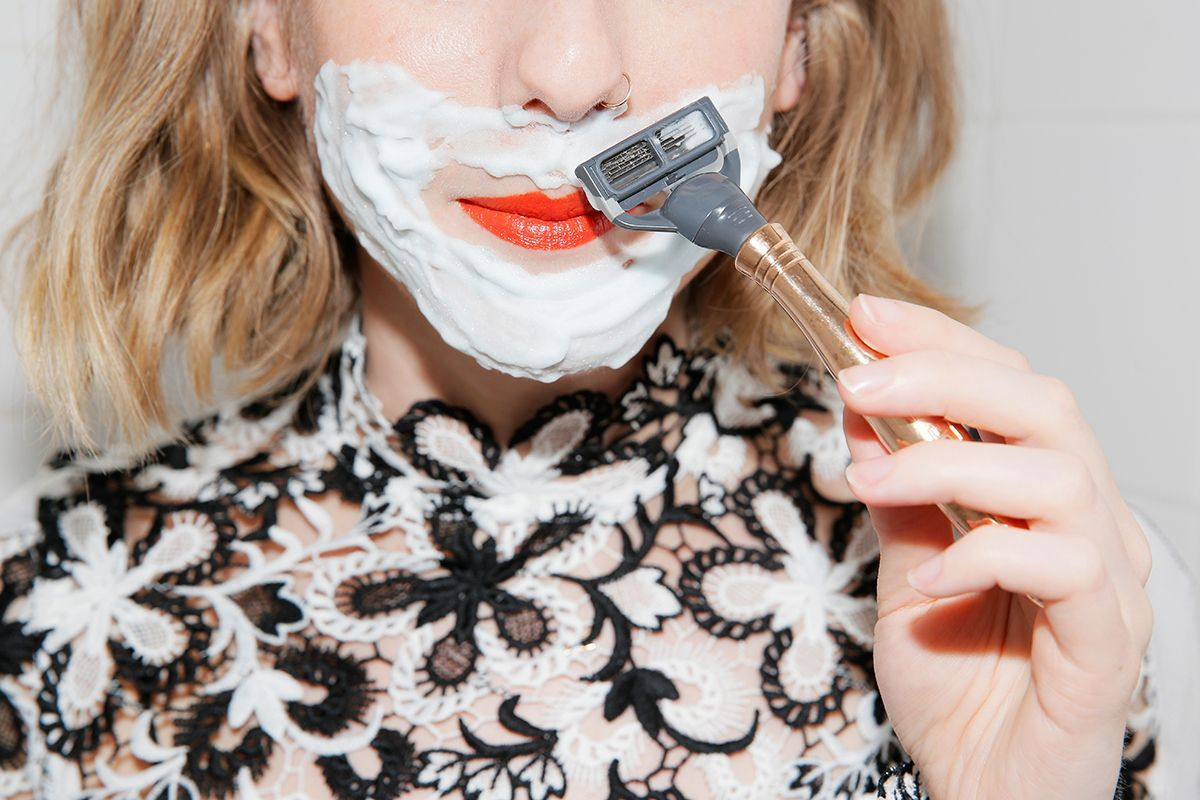 Face Shaving is Not Just For Dudes – Man Repeller Would we call female facial ha…