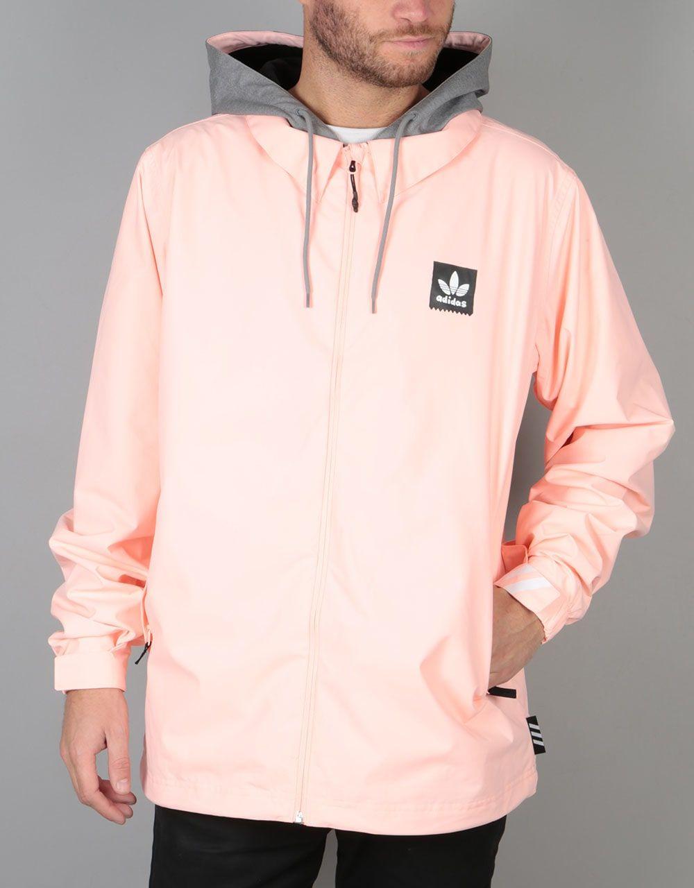 Pantera carpintero virar  Adidas x Gonz Civillian ADV 2018 Snowboard Jacket - Haze Coral/Heather    Snowboard jacket, Skateboard clothes, Jackets