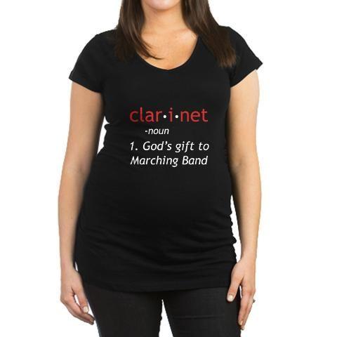 76dc8ab7 Clarinet - God's gift to marching band | Band | Maternity Shorts ...