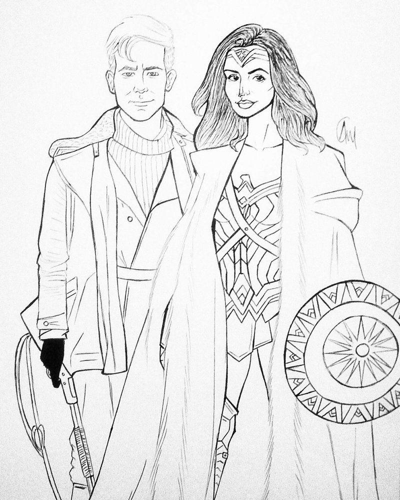 Steve And Diana Steve Diana Drawings