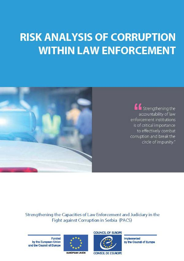 Risk Analysis Of Corruption Within Law Enforcement  Fighting