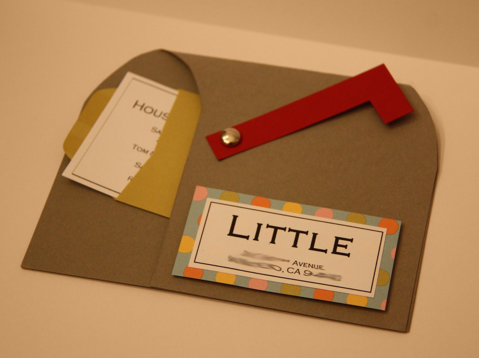 This may be one of the cutest invites I\'ve ever received! My friend ...