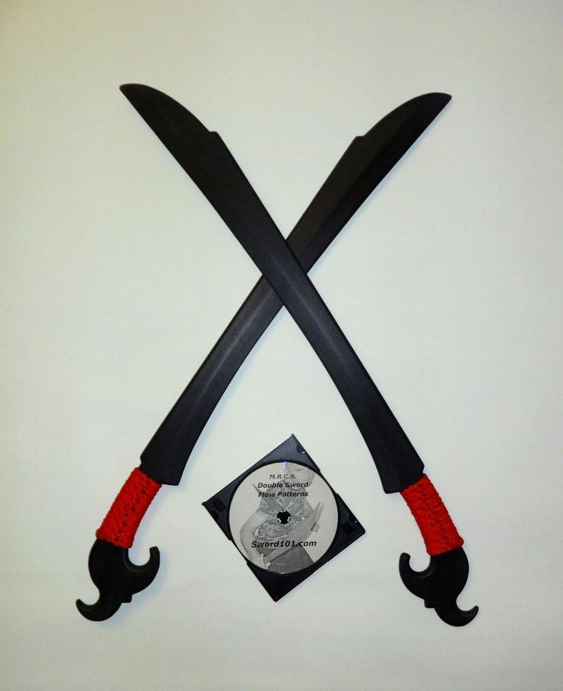 Polypropylene Practice Ginunting Sword Training Knives Red Ninja Custom Swords