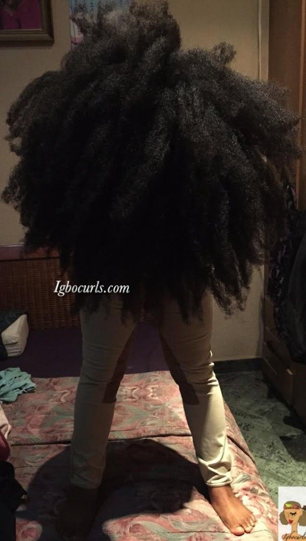 Chinwe From Nigeria Type 4 Natural Hair Icon Long Hair Girl