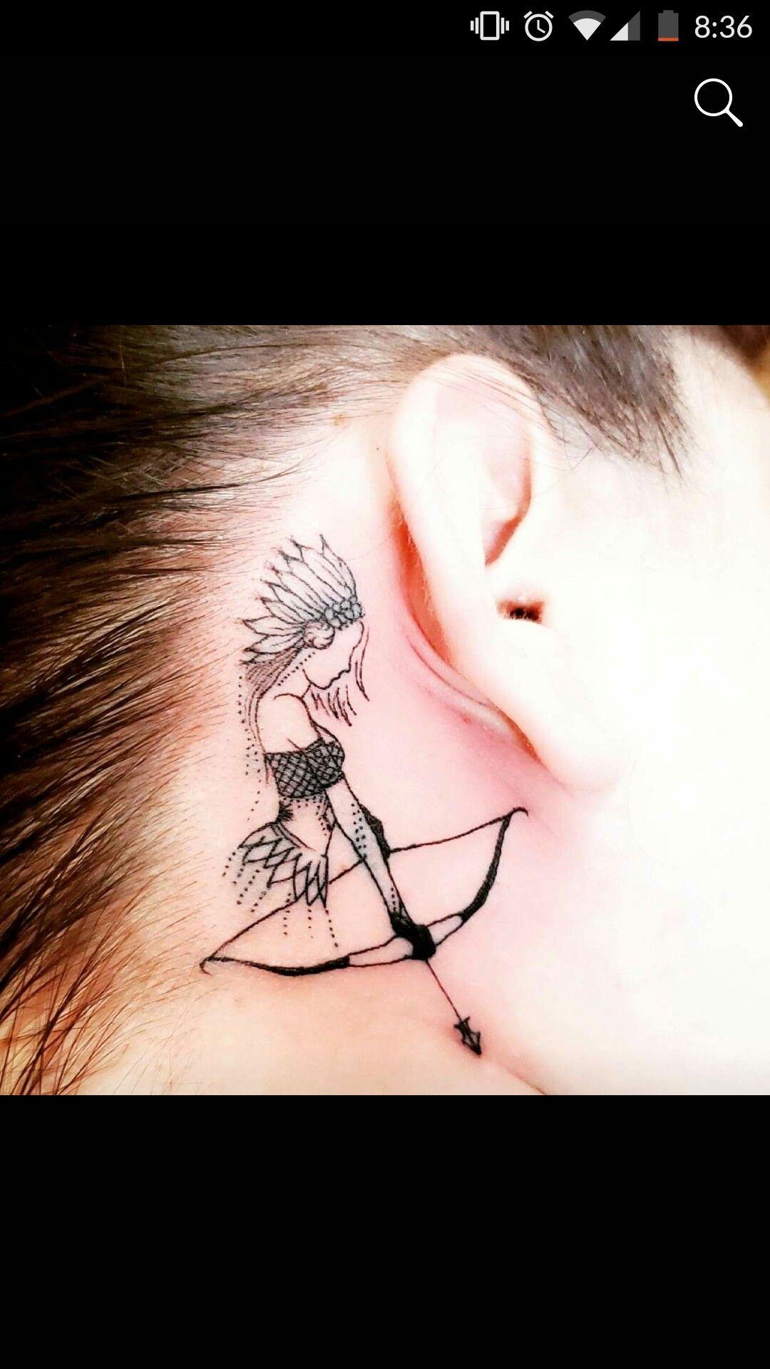 Photo of Jägerin Tattoo
