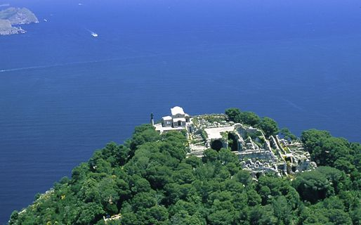 The Villas of Tiberius Capri island, Capri italy, Villa