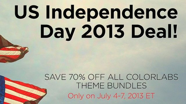 ColorLabs - Get 70% discount on all their WordPress Theme Bundles