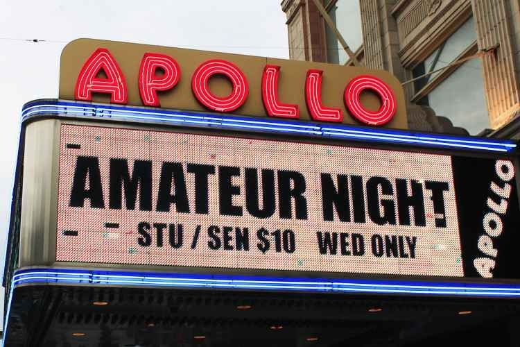 The apollo to hold amateur night auditions in multiple cities