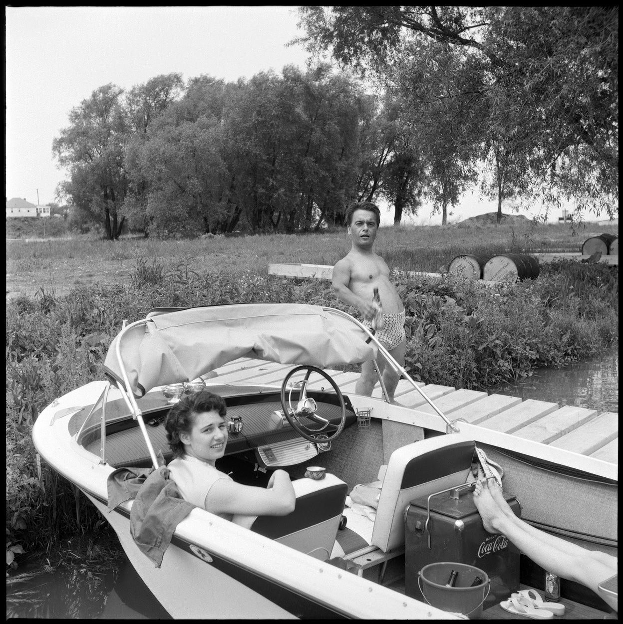 The Party: 1950s - Hamilton, Ontario. Name your pleasure and stow that camera. Click to view full size.