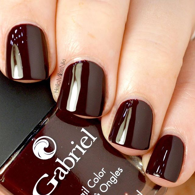 gabriel-cosmetics-bloodstone | Polished | Pinterest | Fall nail ...