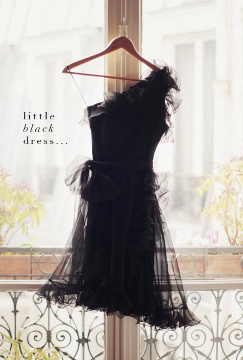 little black dress, love